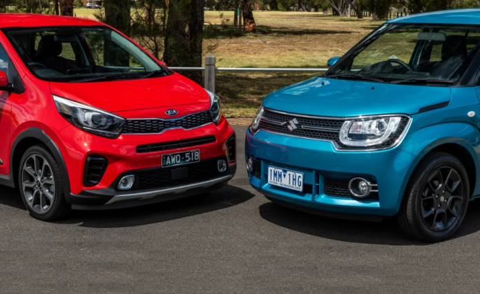 2018 Kia Picanto X-Line v Suzuki Ignis comparison --- Pint-sized and punchy: Compact city car face-off