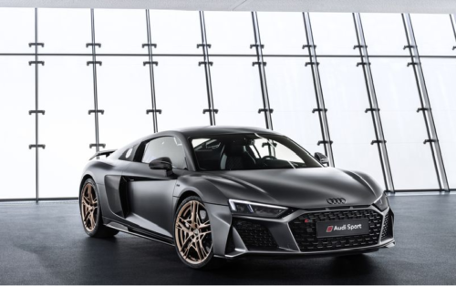 The 2020 Audi R8 Decennium Celebrates Audi's Magnificent V-10