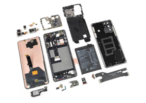 Huawei P30 Pro iFixit teardown reveals interesting design choices
