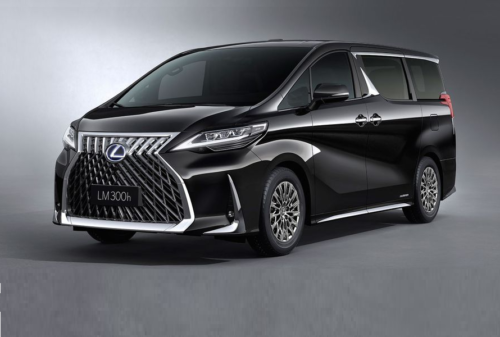 Lexus LM Minivan: We'd Describe It to You, but Really You Should Just Take a Look for Yourself First