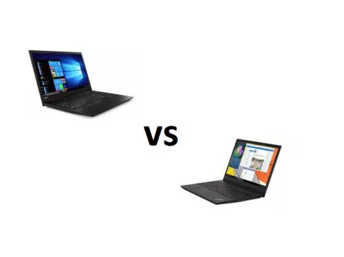 Lenovo ThinkPad E590 vs Lenovo ThinkPad E580 – what are the differences?