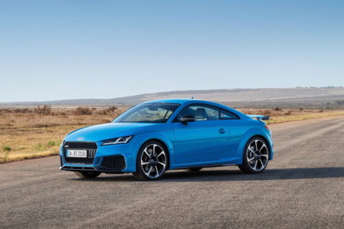 2019 Audi TT RS gets subtle cosmetic surgery ahead of its trip to the Big Apple
