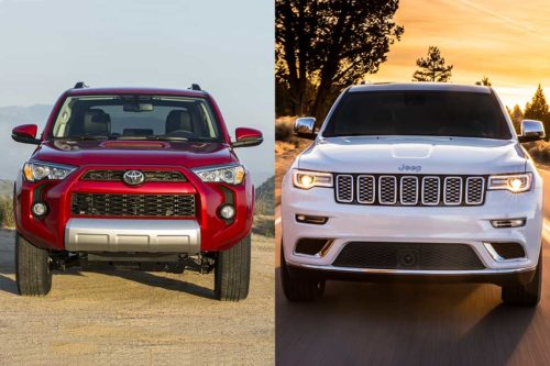 2019 Toyota 4Runner vs. 2019 Jeep Grand Cherokee: Which Is Better?
