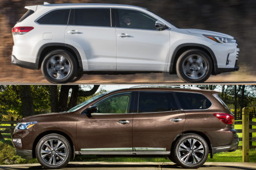 2019 Toyota Highlander vs. 2019 Nissan Pathfinder: Which Is Better?
