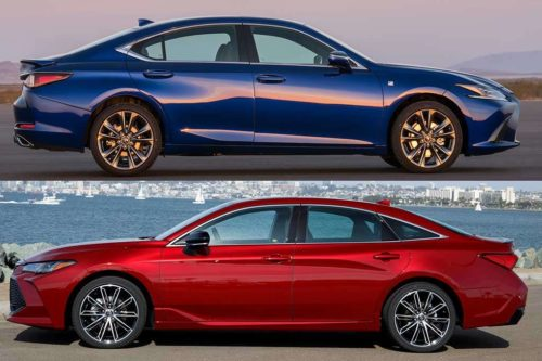 2019 Lexus ES 350 vs. 2019 Toyota Avalon: What's the Difference?