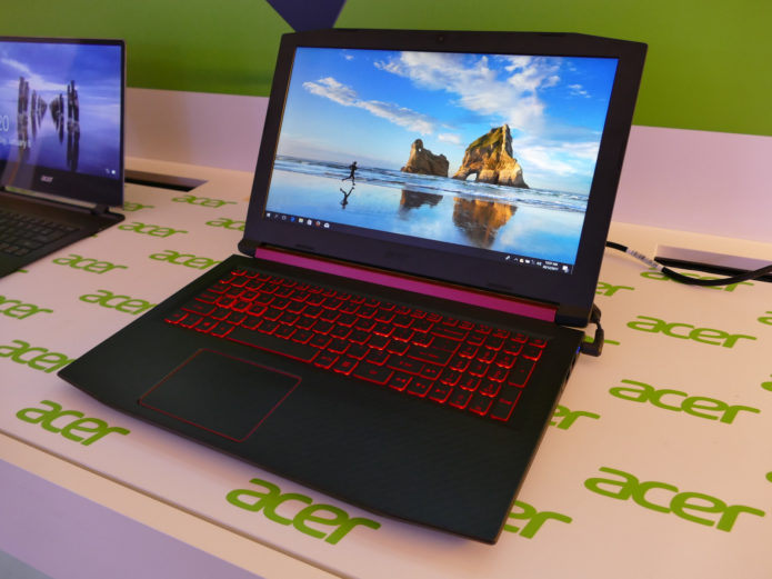 Acer's Nitro 5 and Nitro 7 Boast 9th Gen CPUs, 144Hz Panels
