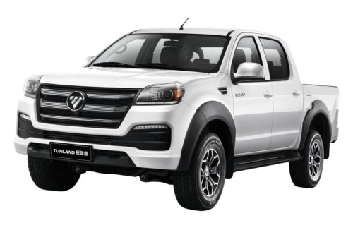 Foton Tunland ute upgraded for 2019