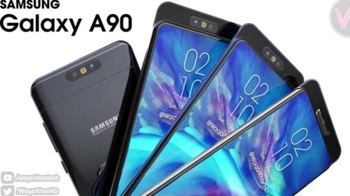 Galaxy A90 video shows rotating popup camera trick