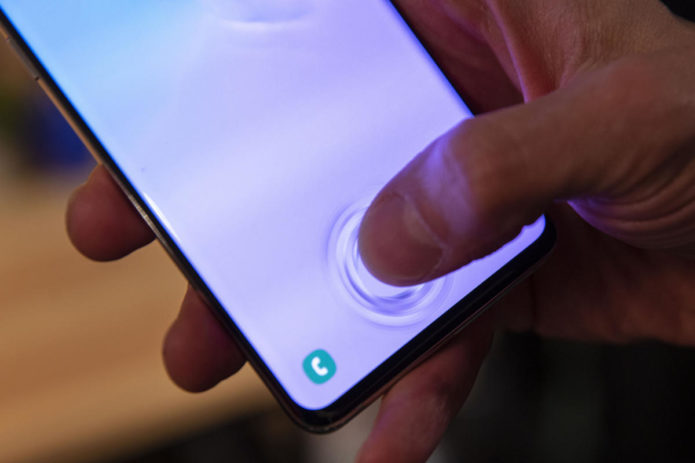 Fingerprint scanner face-off: Samsung Galaxy S10+ vs OnePlus 6T vs Galaxy S9 vs Apple's iPhone