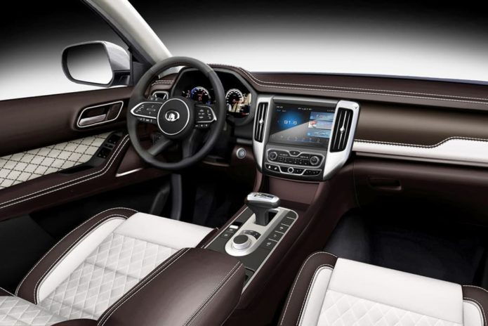 Great Wall Ute interior revealed