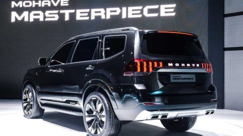Mohave Masterpiece and SP Signature concepts hint at future Kia SUVs