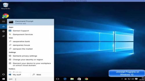 How to Uninstall or Repair an App in Windows 10