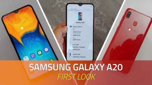 Samsung Galaxy A20 Hands-On Review: First Impressions