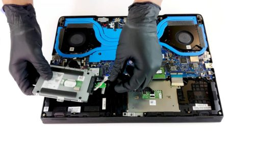 Inside Dell G5 15 5590 – disassembly and upgrade options
