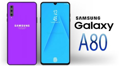 Samsung Galaxy A80 hand-on review: Will the automatic rotating camera turn your head?