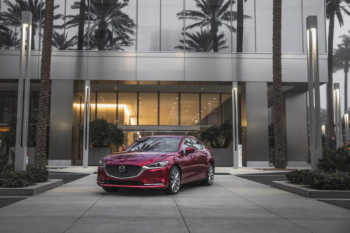 2019 Mazda 6 sedan drops manual transmission, adds more standard tech features