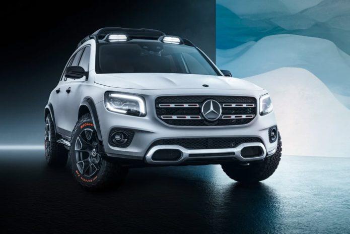 SHANGHAI MOTOR SHOW: Mercedes-Benz Concept GLB revealed
