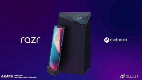 Is this our first look at the foldable Motorola Razr V4?