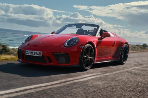 NEW YORK MOTOR SHOW: Limited-edition Porsche 911 Speedster premieres