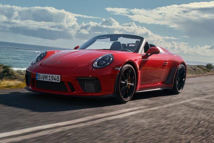 NEW YORK MOTOR SHOW: Limited-edition Porsche 911 Speedster premieres