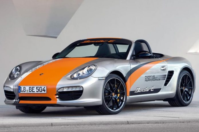 Porsche Boxster and Cayman to get hybrid and EV powertrains