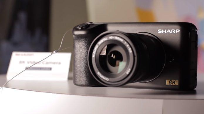 Sharp 8K Micro Four Thirds Camera at NAB 2019