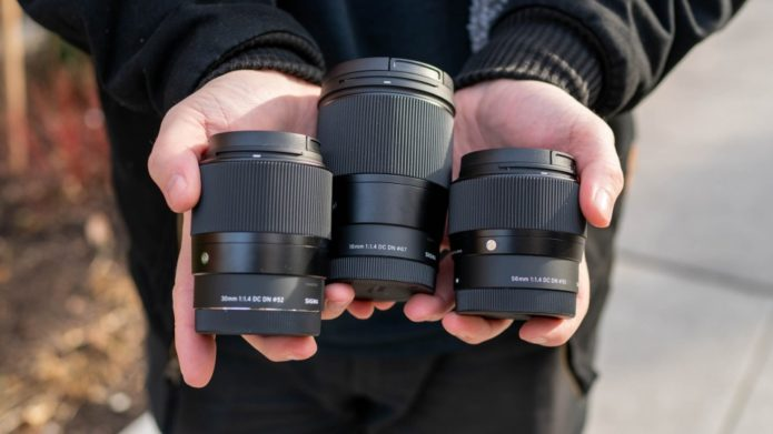 Sigma 16mm, 30mm & 56mm F/1.4 Lens Review