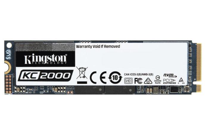 Kingston KC2000 NVMe PCIe SSD: Entry-level price, top-shelf performance