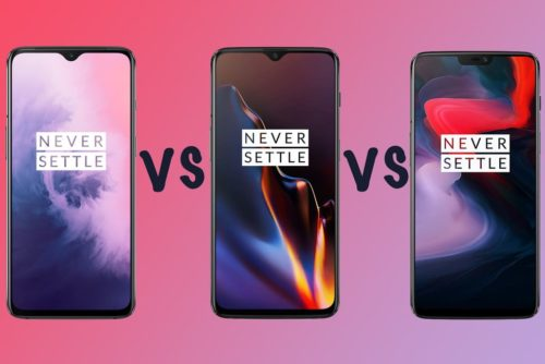 OnePlus 7 vs OnePlus 6T vs OnePlus 6: Differences compared