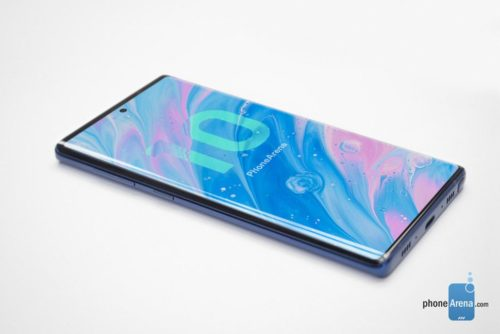 Is this what the Galaxy Note 10 will look like?