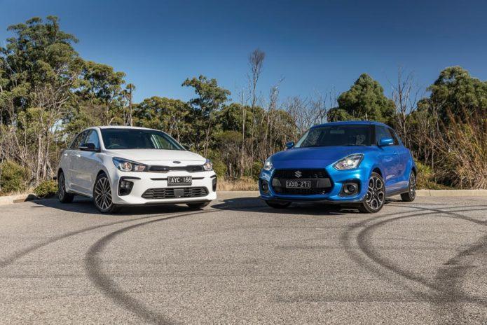 2019 Kia Rio GT-Line v Suzuki Swift Sport Comparison