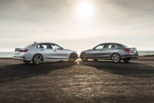 2019 BMW 3 Series v Mercedes-Benz C-Class Comparison