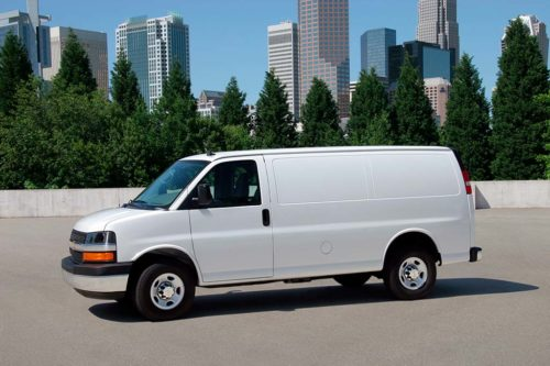 2019 Chevrolet Express Van 3500 Review