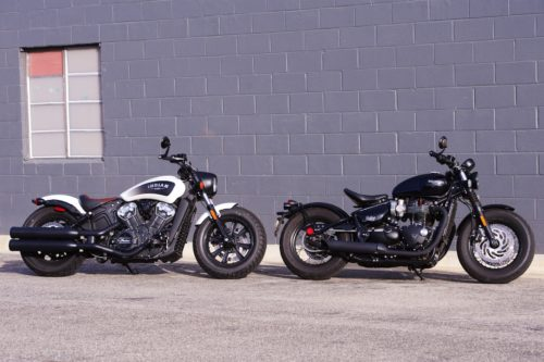 2019 Indian Scout Bobber vs. Triumph Bonneville Bobber Black: Comparison Review