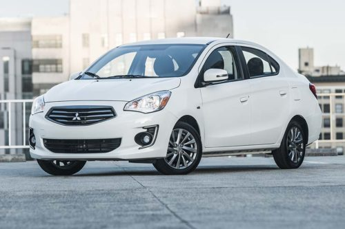 2019 Mitsubishi Mirage G4 Review