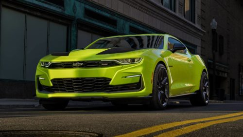 2020 Chevrolet Camaro gets a face-lift to erase controversial styling