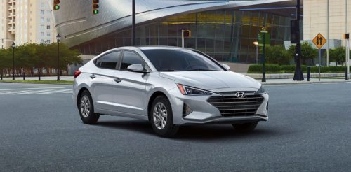The 2020 Hyundai Elantra keeps an eye on the road even if you're not looking