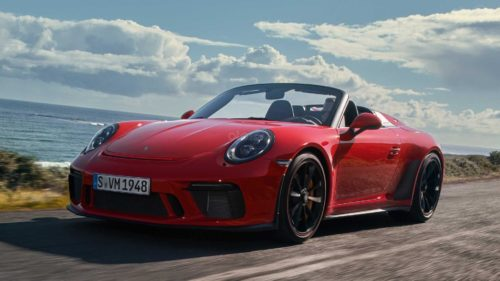 2019 Porsche 911 Speedster first drive review