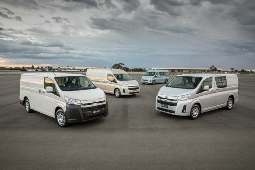 All-new Toyota HiAce touches down