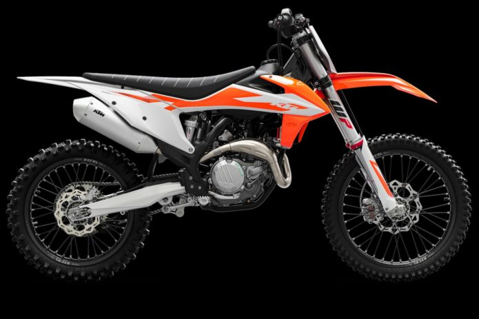 2020 KTM 450 SX-F, 350 SX-F and 250 SX-F First Look (6 Fast Facts)