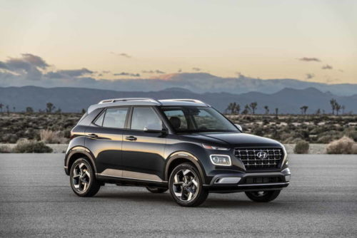 Hyundai's new entry-level Venue crossover targets used car buyers