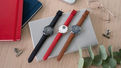 Withings' new Steel HR Sapphire Signature comes in three colors