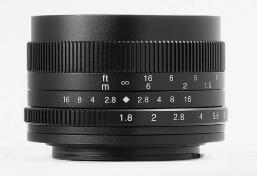 7Artisans 50mm f/1.8 Lens Announced for APS-c Mirrorless Cameras