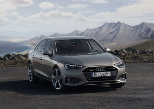 Audi A4 gets new look, more tech and mild hybrid powertrains