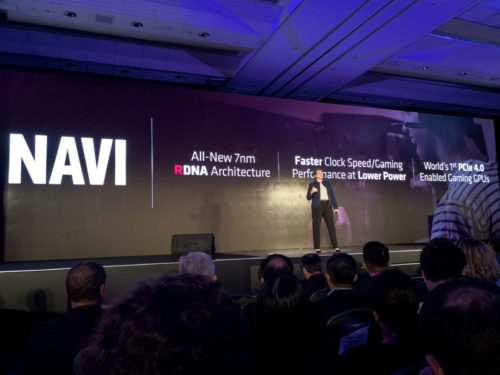 AMD announces Radeon RX5000 Navi GPU series at Computex 2019