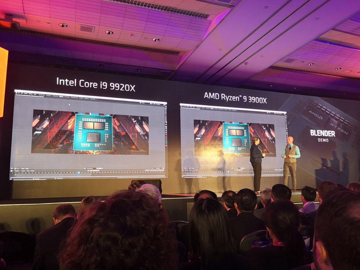 AMD reveals 3rd Gen Ryzen family, 12-core 3900X 'half the price' of