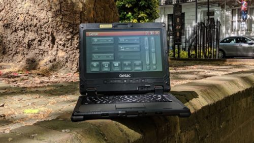 Getac K120 ruggedized laptop review