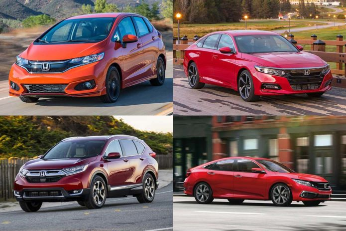 Most Affordable New Hondas for 2019