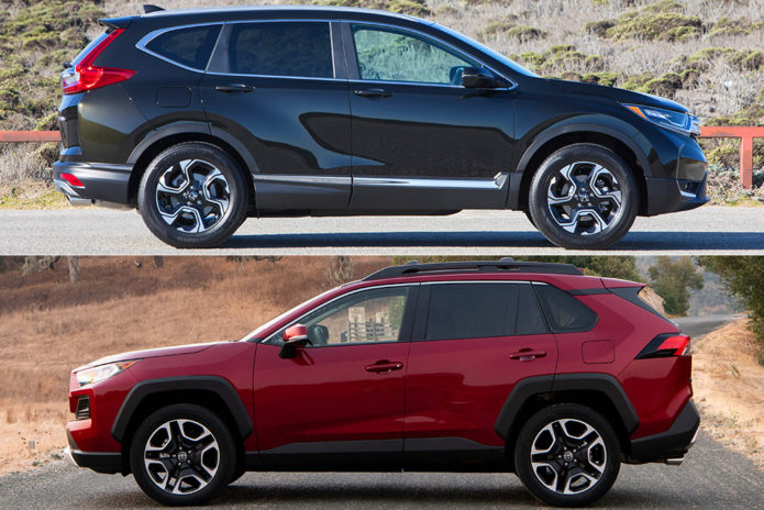 2019 Honda CR-V vs. 2019 Toyota RAV4: Which Popular Compact SUV Is the Better Choice?