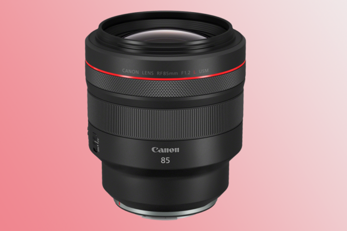 Canon announces ultimate RF portrait lens for its EOS R cameras